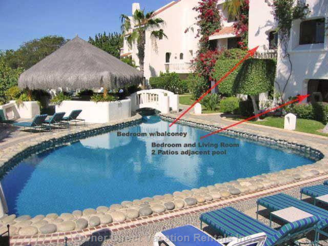 Pool (Deep End), Directly in Front of Townhouse Living, Dinning, Kitchen and (1) Master Bedroom with Ensuite Bathroom on Ground Level
