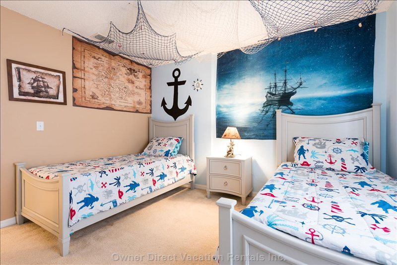Pirate Themed Room