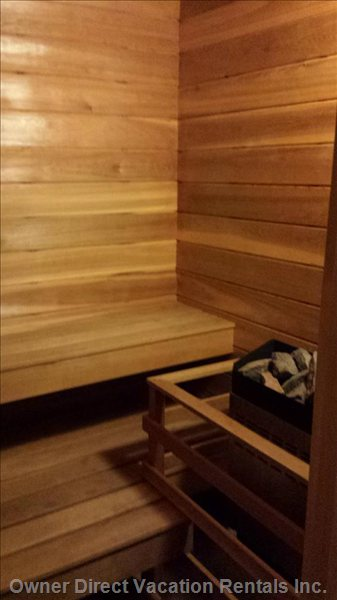 Private Insuite Sauna
