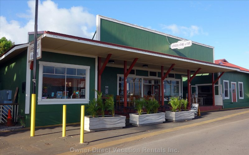 The General Store, Maalaea's Hidden Gem, Offers Groceries and Serves Breakfast and Lunch.