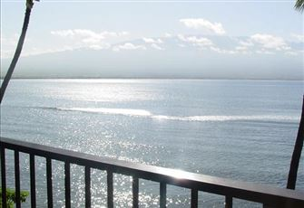 Full Oceanfront with Sliding Doors to Lanai from Master Bedroom and Living Room