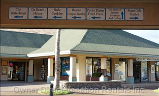 The Maalaea Village is Home to the Pacific Whale Foundation...