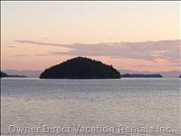 A View from BC Ferries Heading to Sunshine Coast