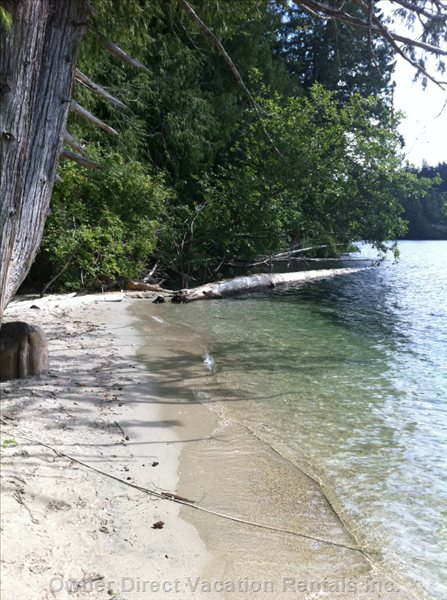 Beach at Ruby Lake