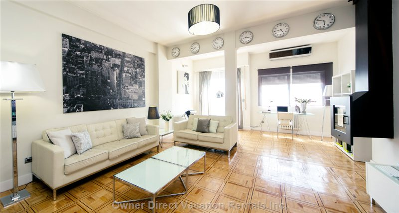 Welcome to our Home. Sit Comfortably and Enjoy the Tour around the Apartment.