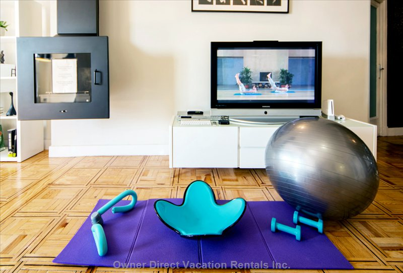 Dont Relax because you are on Holiday, Keep your Sports Up. Yoga, Pilates, Core Exercises.