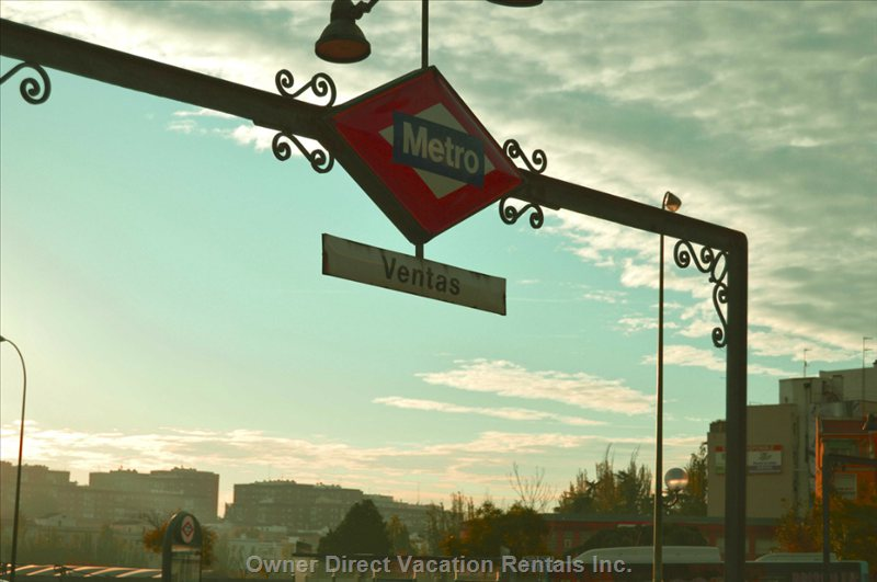 Nearest Metro Station. Ventas