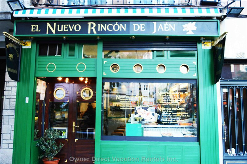 El rincón de jaén. Best Local Bar, Best Ham and Tapas in Town.