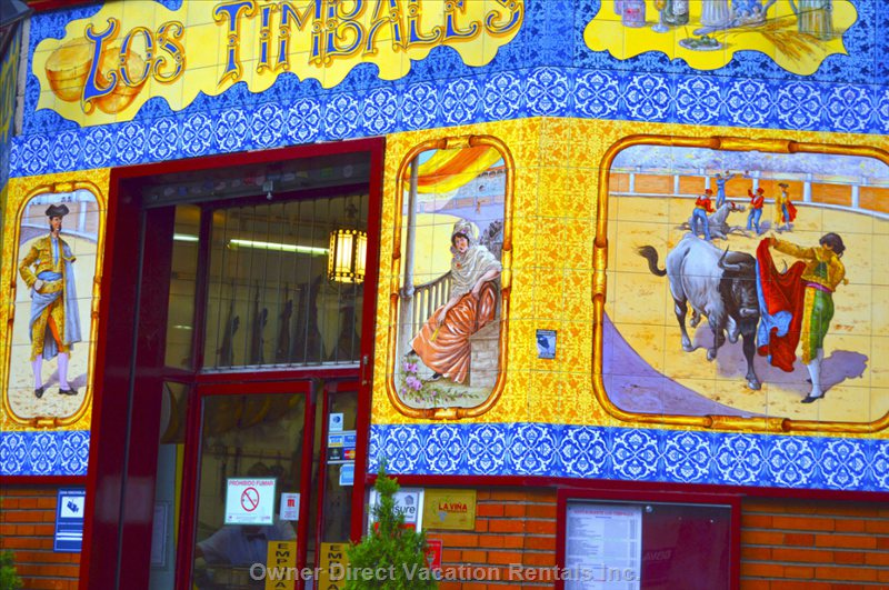 Los Timbales, another Local Bar.