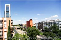 You Can See from the Apartment the Famous Cuatro Torres Business Area (Ctba) (Spanish for Four Towers Business Area).