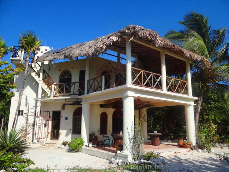 Charming Villa. Spacious Balcony and Terrace Face the Beach