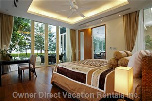 Wake up to the Beach View outside your Master Bedroom.