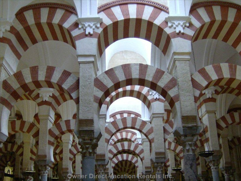 Visit the Mesquita at Cordoba