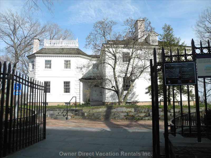 The Mansion and Grounds are a Museum to George Washington and Friends