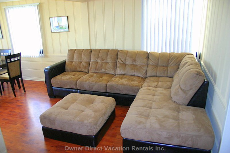 Your Worries Will Melt Away Once you Lay Back on this Sofa.
