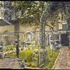 Your Backyard is the Right 1/2 of the Famous Touchstone Gardens. Photo from 1919 is in the Smithsonian Institute.