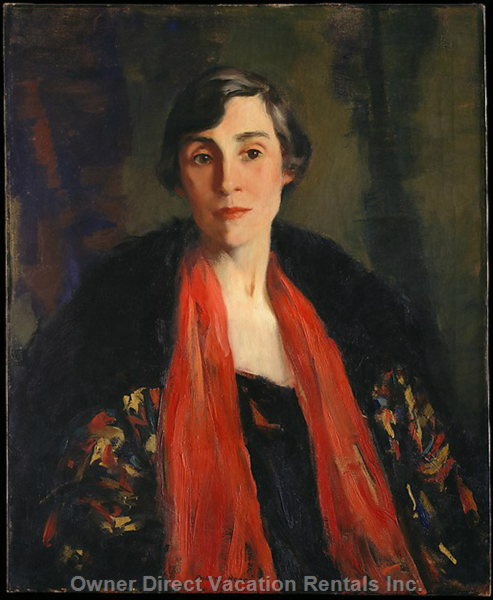 Mary Fentan Roberts Started Touchstone Publications Here in Early 1900's. See her Painting by Robert Henri in the Met Museum.