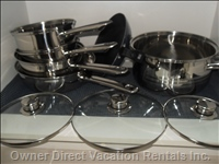 Stainless Pots and Pans