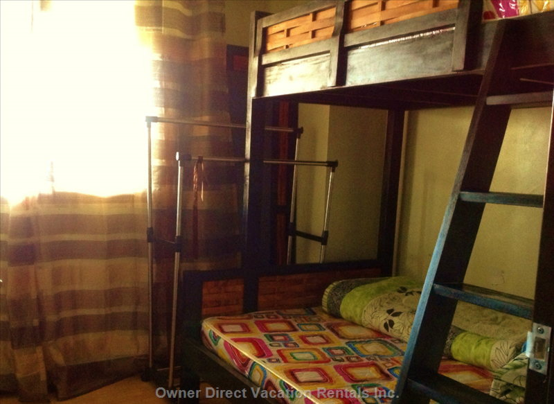 Second Bed Rooom with Bunk Bed Single and Double