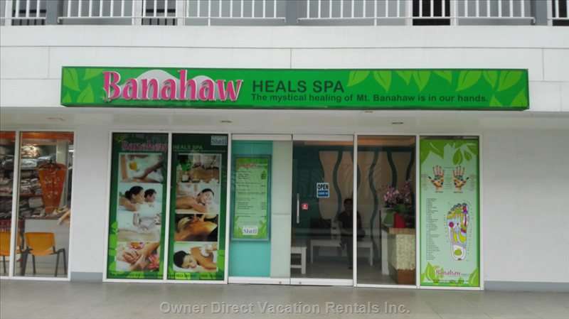 On-Site Storefront with Public Pay Parking:  Health Spa