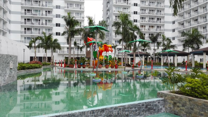 Kiddie Pool and Playground.