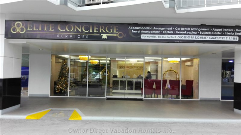 Full Service Concierge.