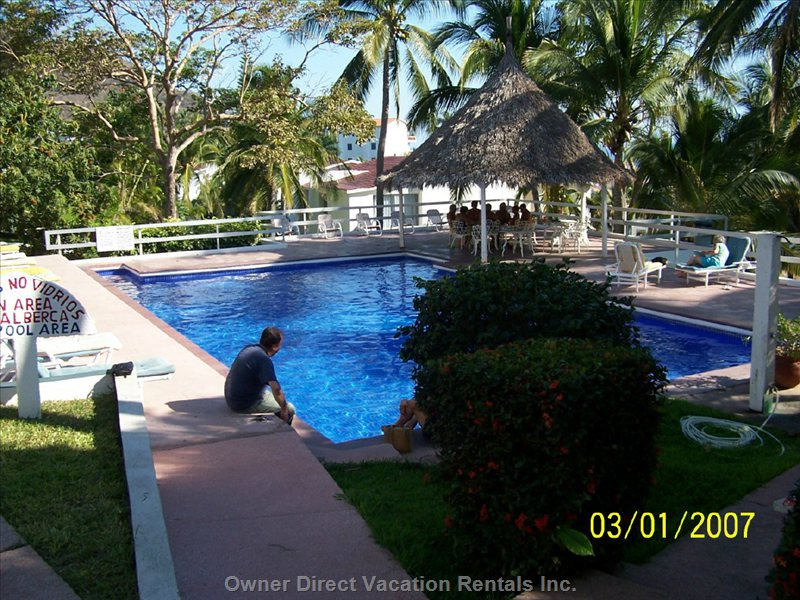 The 3rd. Pool at Vida. all 3 Pools Area Available to Guests.