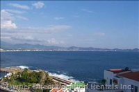 Manzanillo Bay View from Terrace