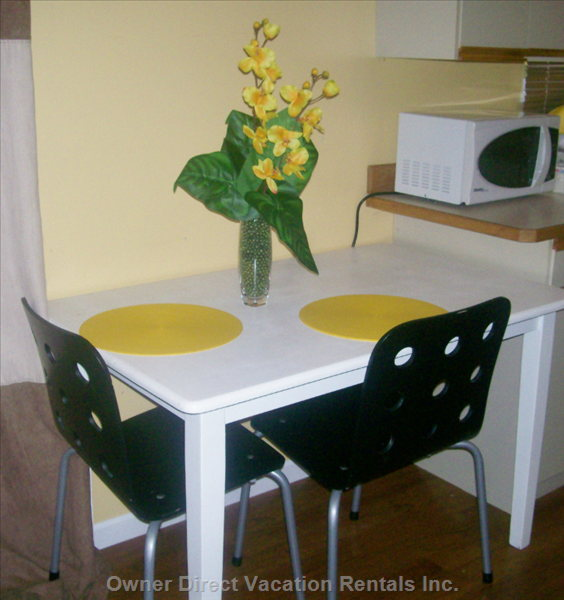 Kitchen Table ~ Aditional Chairs Available If Needed ~