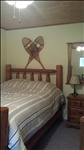 """Log Room"" Log Queen and Twin Beds"