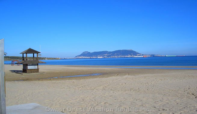 A calm zone with a great sand beach and golf, ID#206642