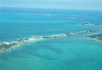 Spectacular Views of The Sea of Abaco and the Atlantic Ocean