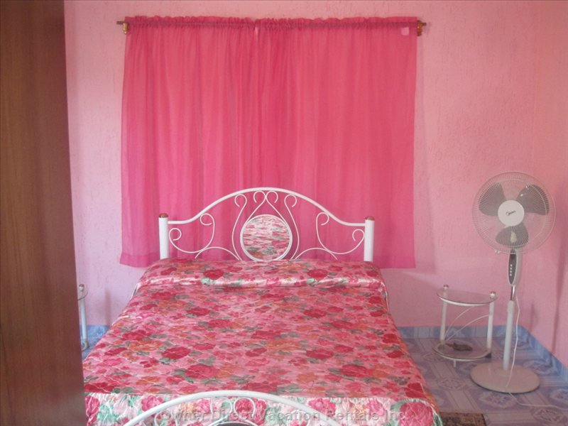 Bedroom - Airconditioned - 1 Large Bed and 1 Small Bed