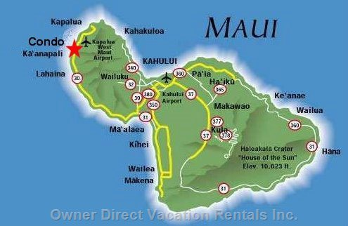 Convenient Location in West Maui