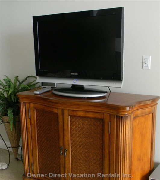 Flat Screen Tv in Living Room