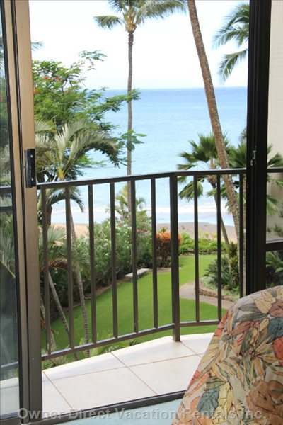 View from Bedroom with Walk out Lanai