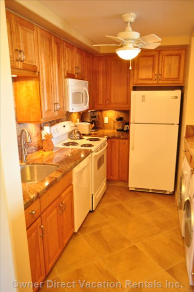 Our Remodeled Kitchen with everything you Need