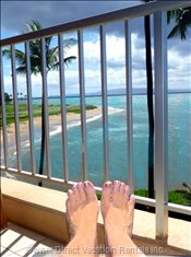 Relax on Lanai, Chaise Lounge.