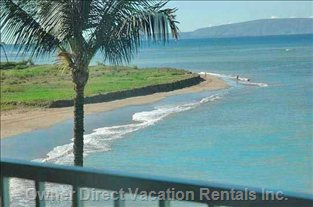Great View from the Lanai, Beach to Walk Forever on!