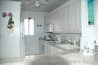 Fully Equipped Kitchen, Including Washer/dryer