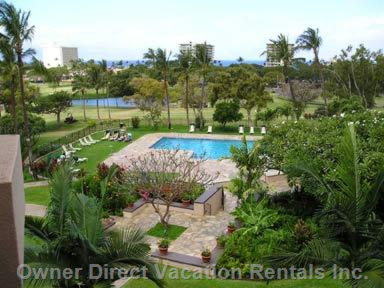 Wonderful Complex. View of Ocean and 16th Fairway on Kaanapali Course. Amazing Sunsets over the Isle of Lanai!