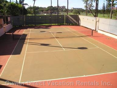 Two Tennis Courts in the Complex for Guests Use.