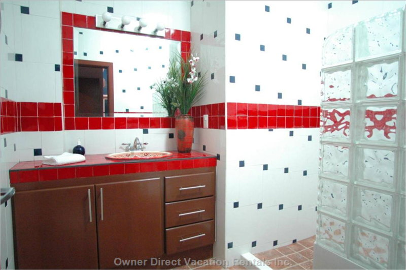 Tile Work in Master Bath