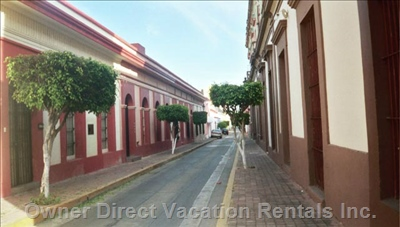 Colonial Mazatlan out your Front Door