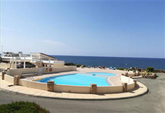 Sunset Sea View.  Apartment, Direct on Sea Shore in Paphos, Cyprus