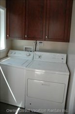 Washer Dryer in Home.