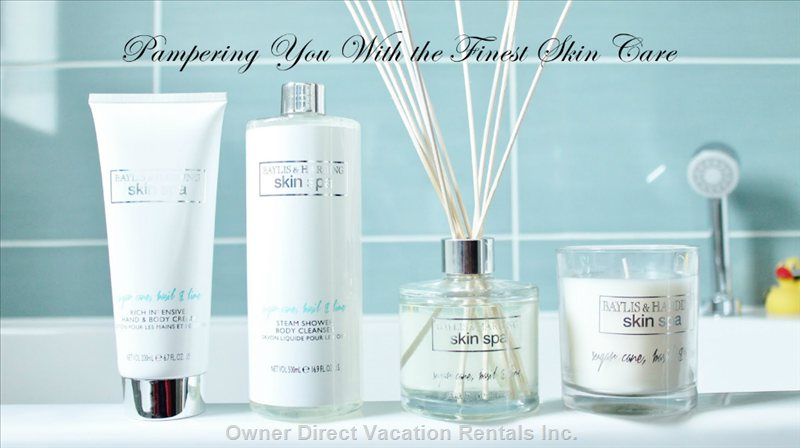 Pampering you with the Finest Skin Care in Bathroom
