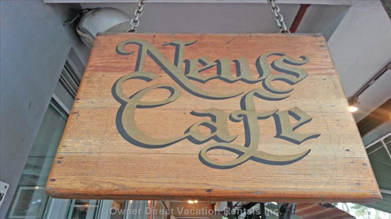 World Reknowned News Cafe Next Door