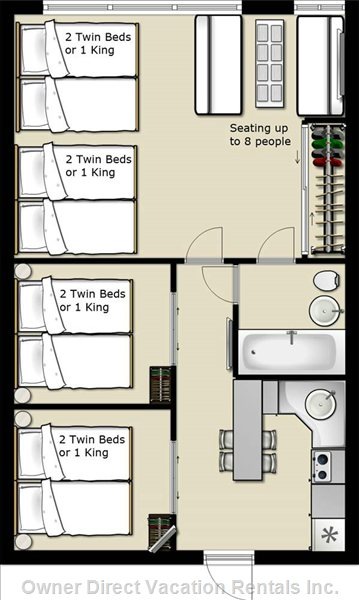 Floor Plan Art Deco Suite
