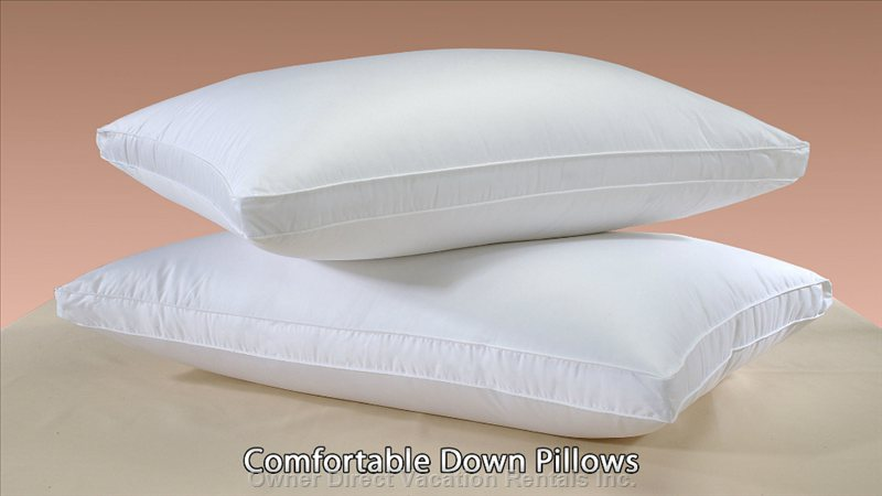 Pillows Comfortable down